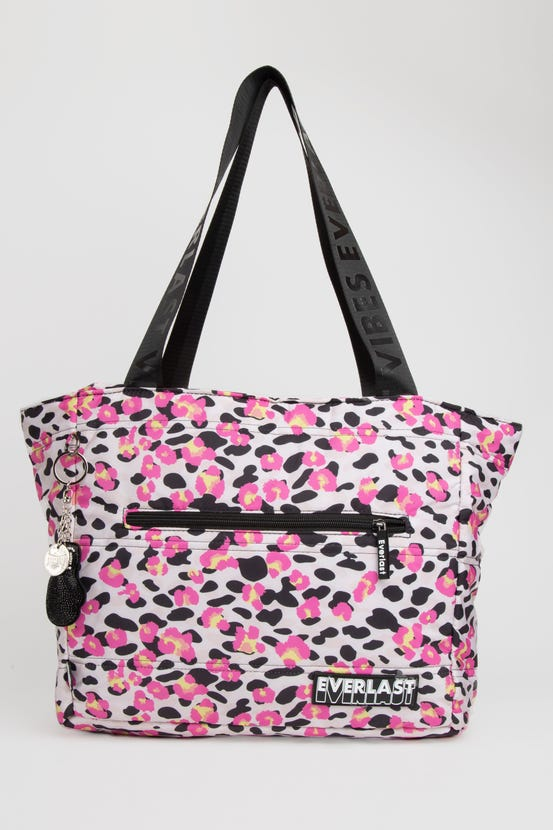 Bolso Tote Quilted Queen Rosado Everlast