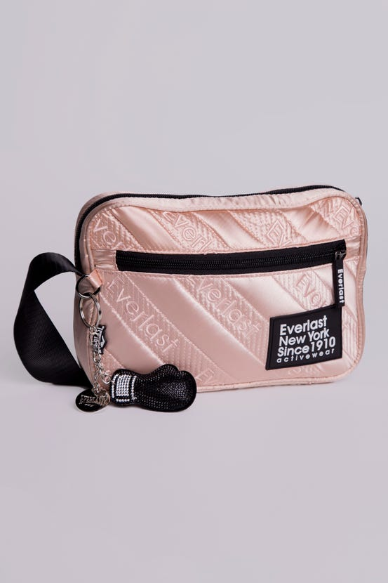 Bolso Party Quilted Letter Malva Everlast