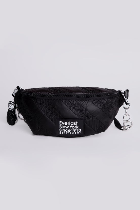 Banano Quilted Letter Negro Everlast