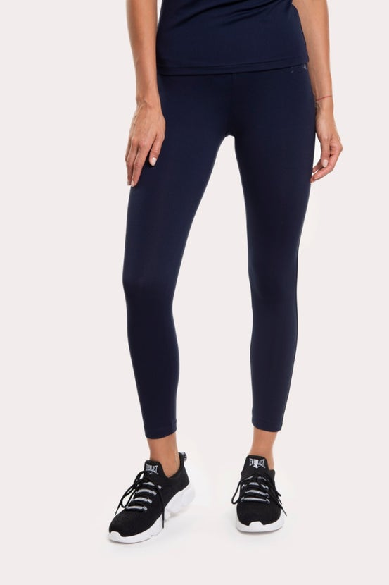 Legging Long Basic Azul Everlast