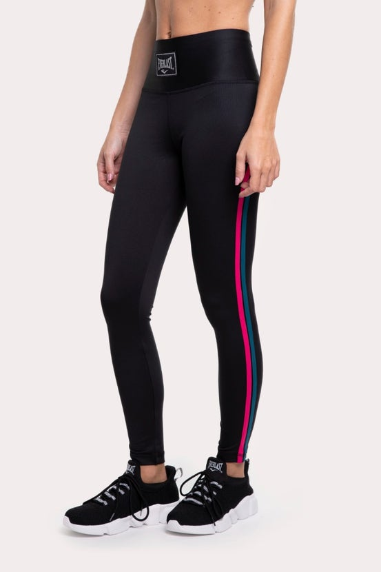 Legging Long Cross Guinda Everlast