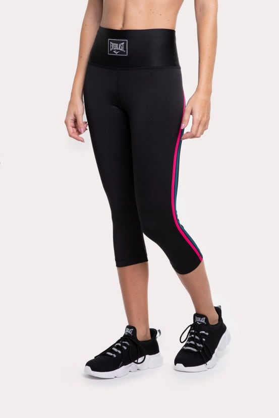 Legging Mid Cross Guinda Everlast