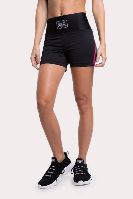 Legging Short Cross Guinda Everlast
