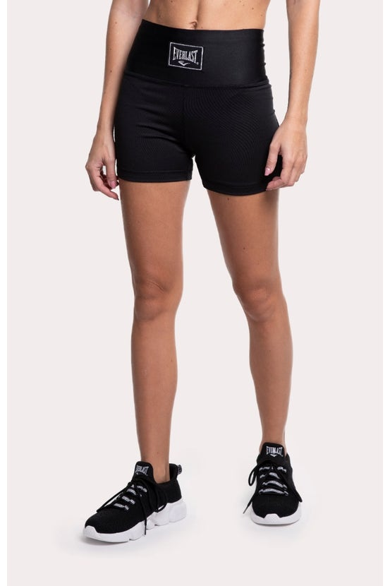 Legging Short Cross Negro Everlast