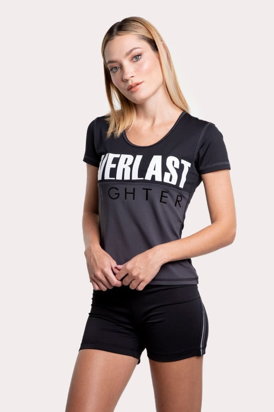Polera M/C Cross Negro Everlast