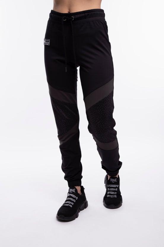 Jogger Diagonal Negro Everlast