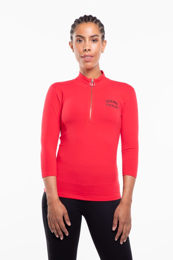 Polera M/C Tweed Rojo Everlast