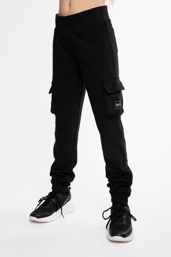 Jogger Tweed Niña Negro Everlast