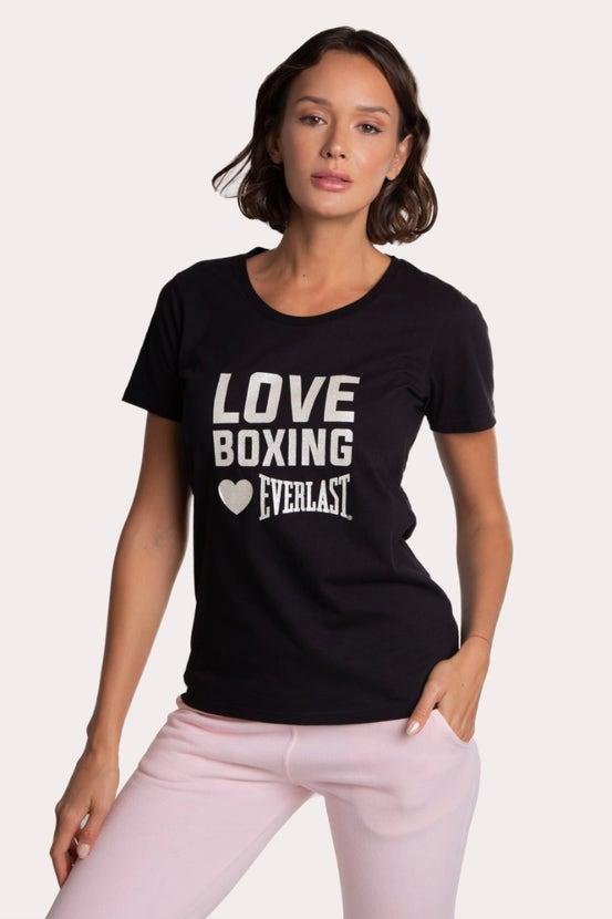 Polera M/C Boxing Heart Negro Everlast