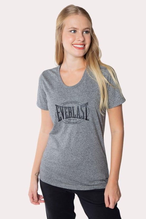 Polera M/C Heritage Gris Everlast