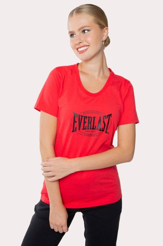Polera M/C Heritage Rojo Everlast