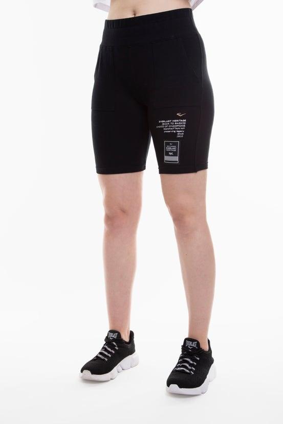 Legging Biker Queens Negro Everlast