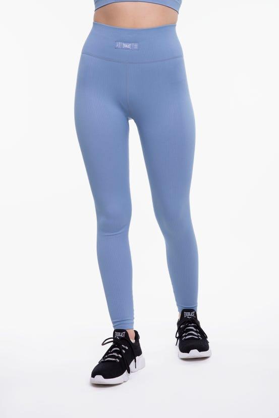 Legging Long Seamless Yogi Azul Everlast