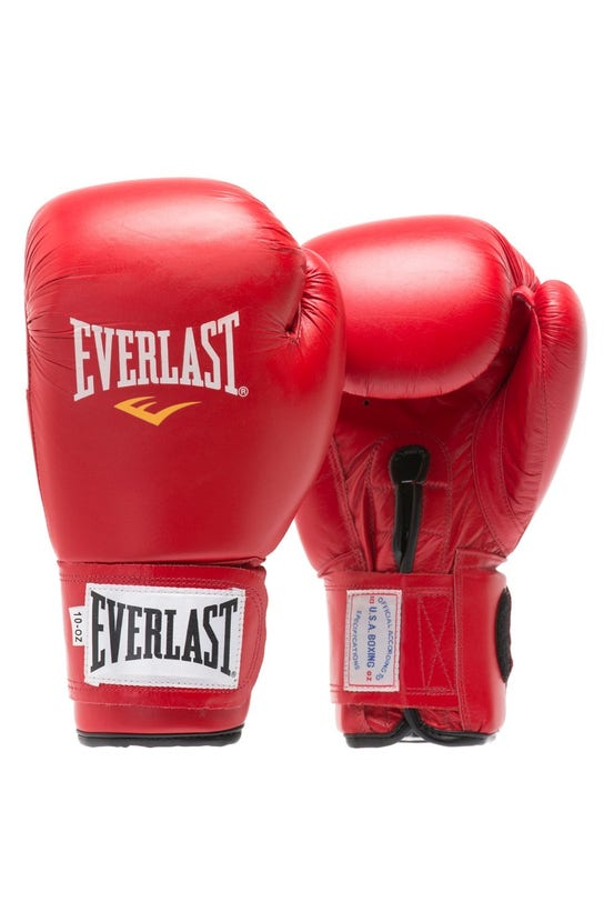 Guante Box Eve Amateur Rojo Everlast